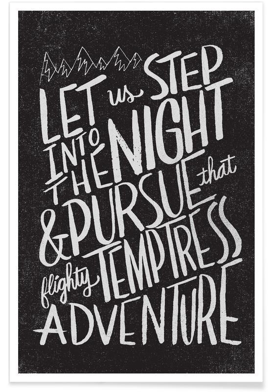 Quotes en slogans, Pursue Adventure poster