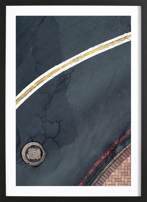 Roll Away ingelijste print