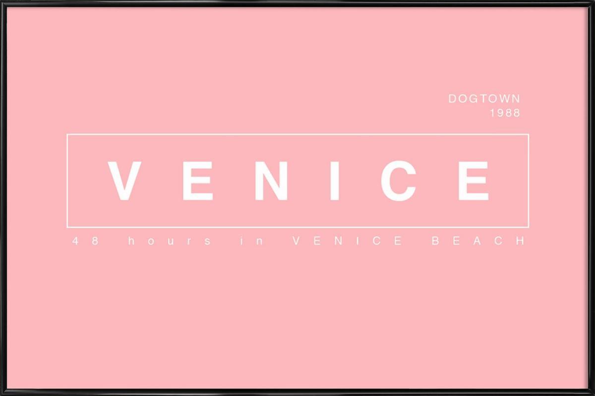 Venice ingelijste poster