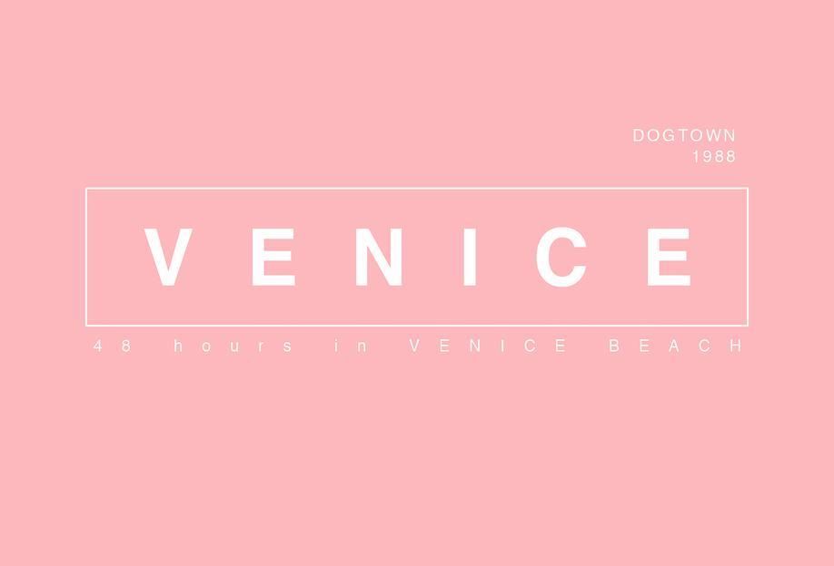 Venice acrylglas print