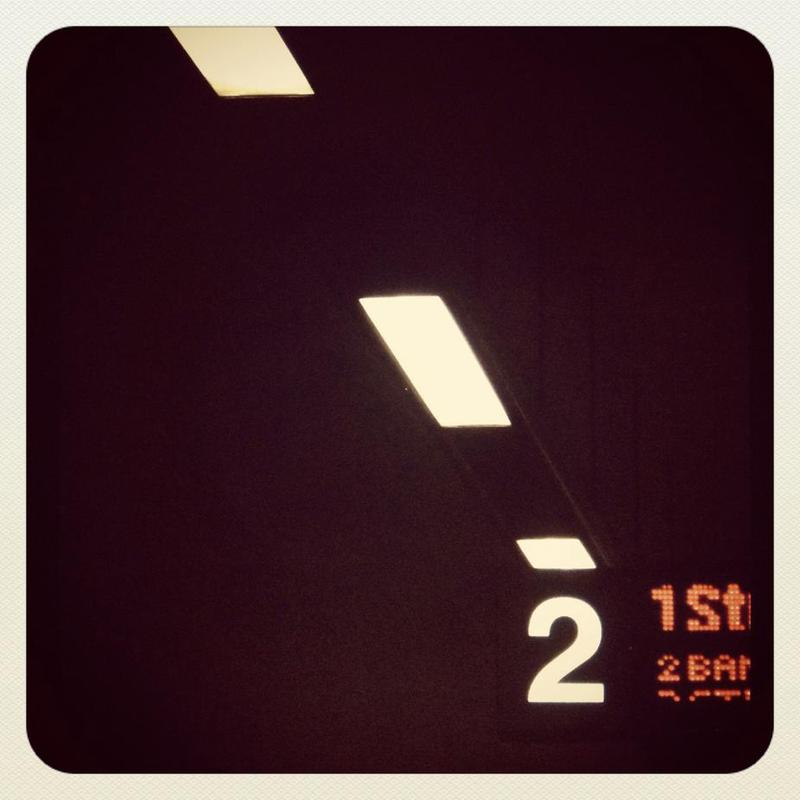 Underground London -Alubild