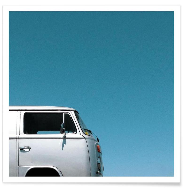 Cars, Wind Water Silver Poster