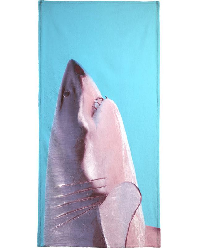 Attack! Blue Beach Towel