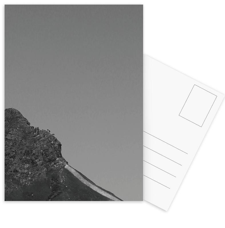 Zwart en wit, Bergen, Familiar Imposition (Western Cape, South Africa) ansichtkaartenset