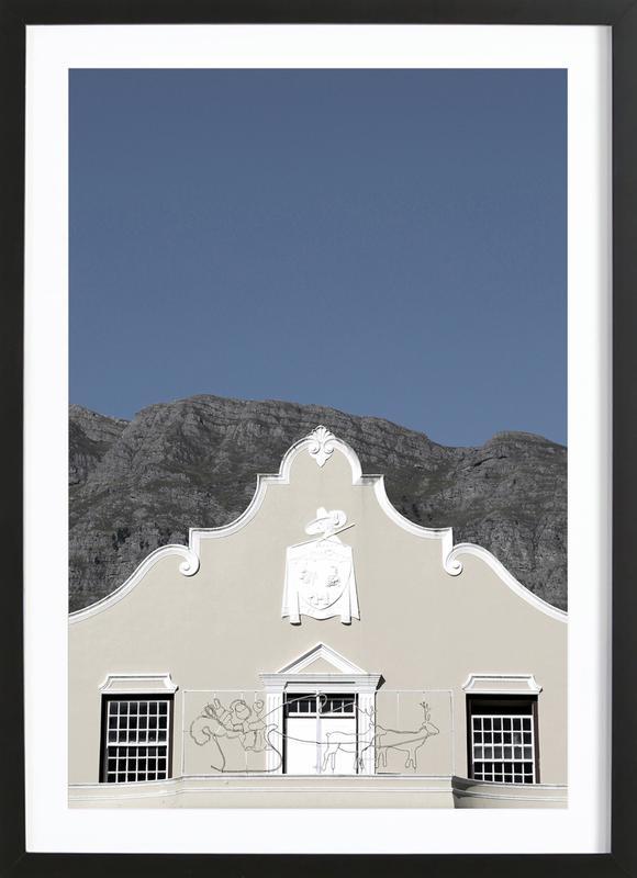 Mainstream (Franschoek, South Africa) ingelijste print