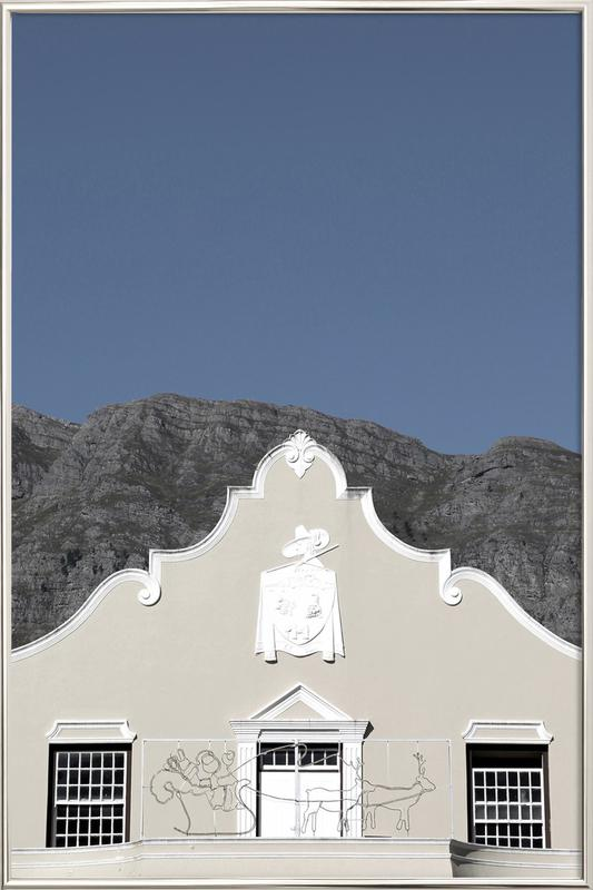 Mainstream (Franschoek, South Africa) poster in aluminium lijst