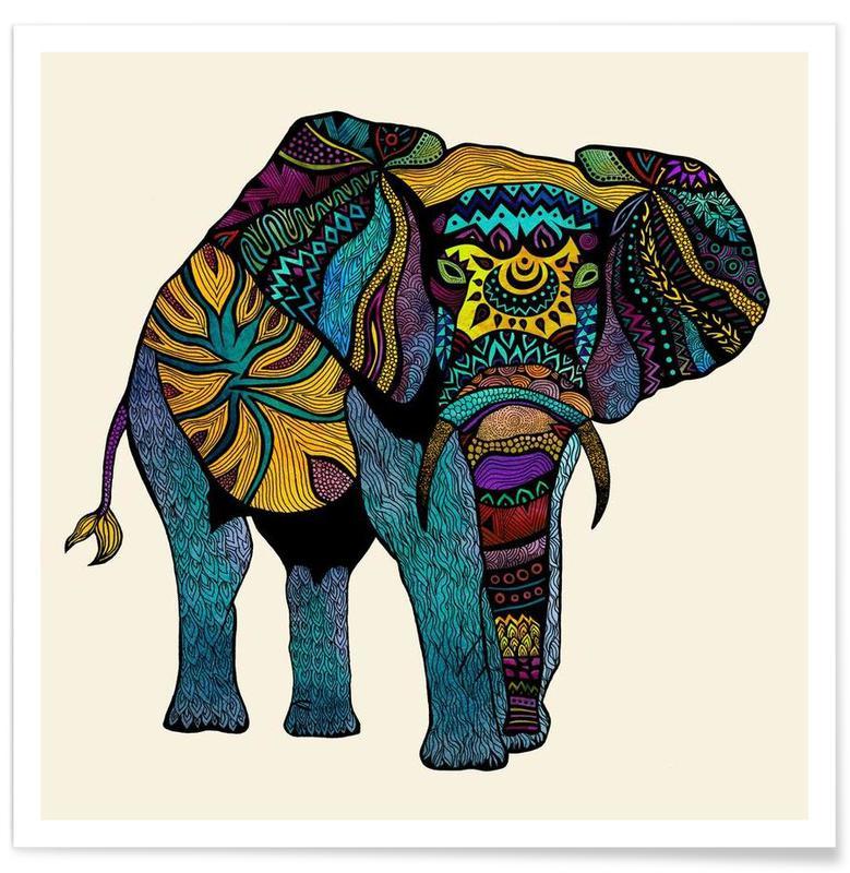 Éléphants, Elephant of Namibia affiche