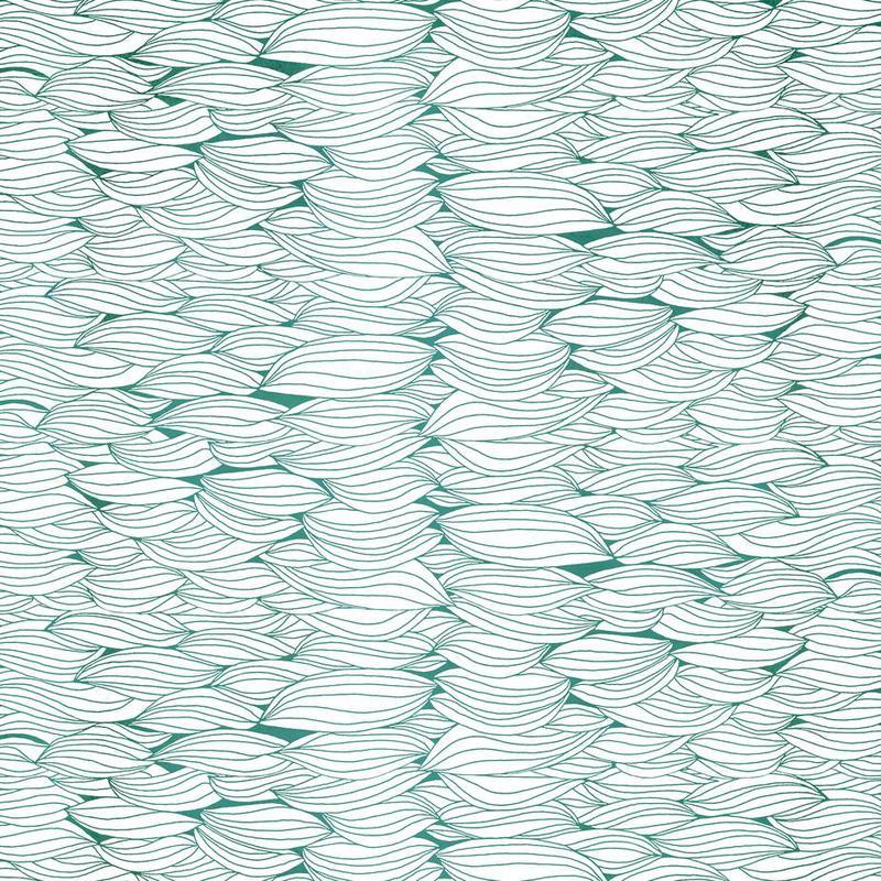 Dancing Feathers Aluminium Print