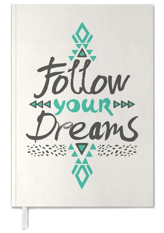Follow Your Dreams Personal Planner