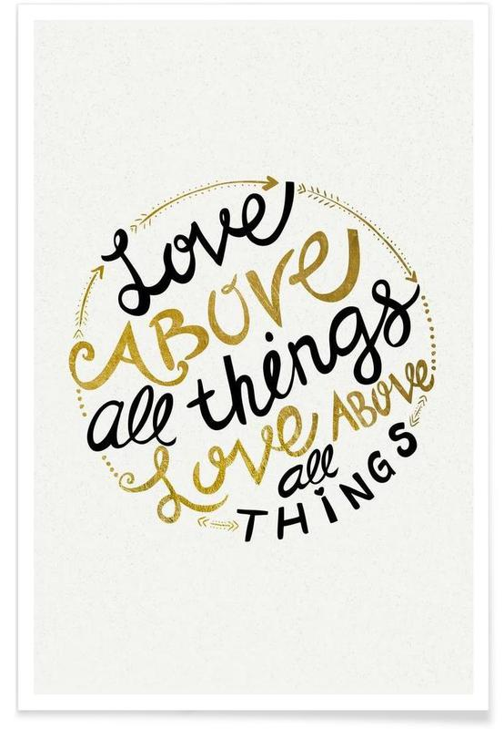 Love Above All Things Poster