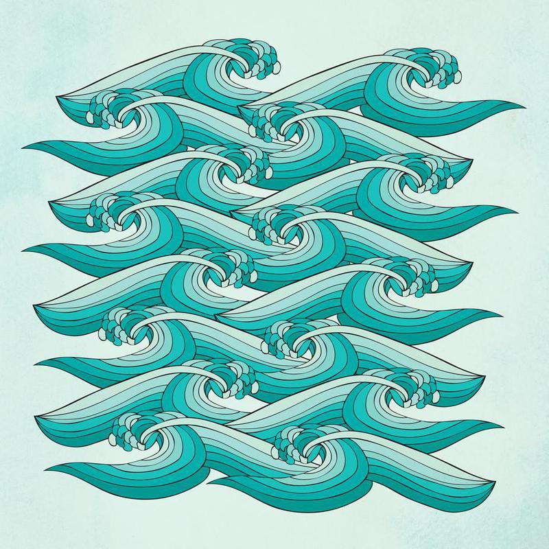 Ocean Vibes -Acrylglasbild