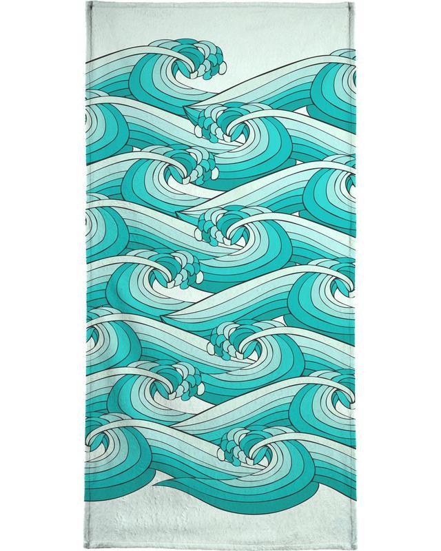 Ocean Vibes Bath Towel