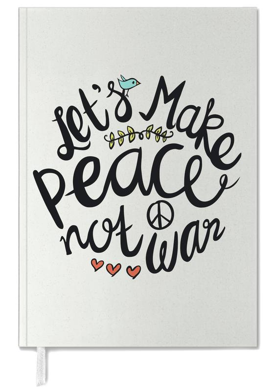Peace Not War Personal Planner
