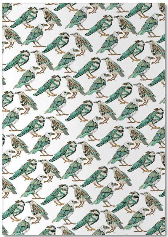 Rétro, Retro Birds bloc-notes