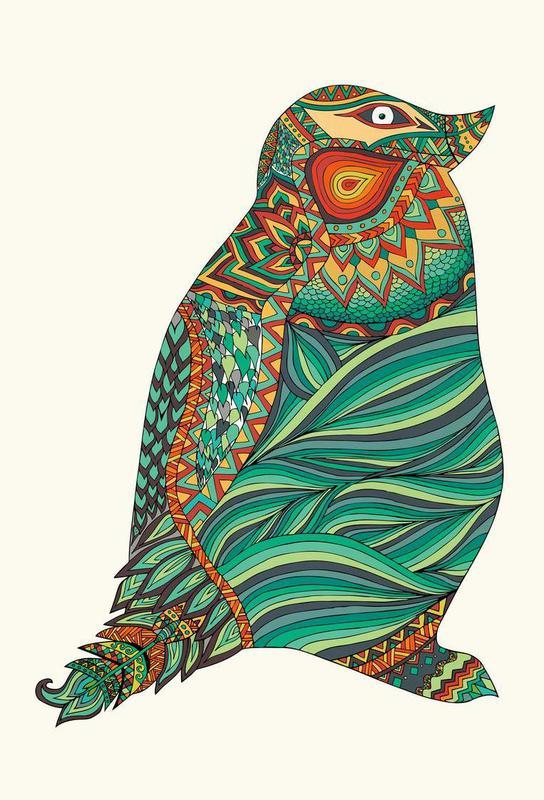 Ethnic Penguin -Alubild