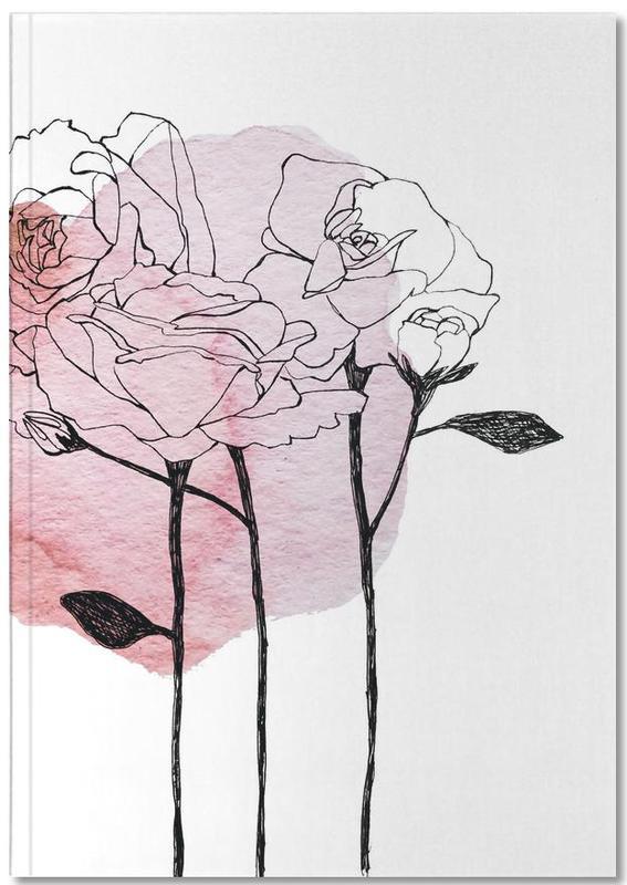 Garden Roses Notebook