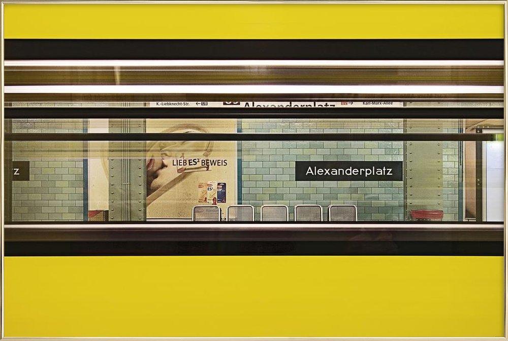 Liebesbeweis Poster in Aluminium Frame