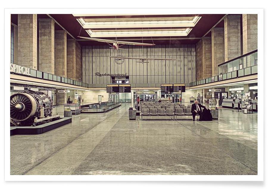 Berlin, Tempelhof affiche