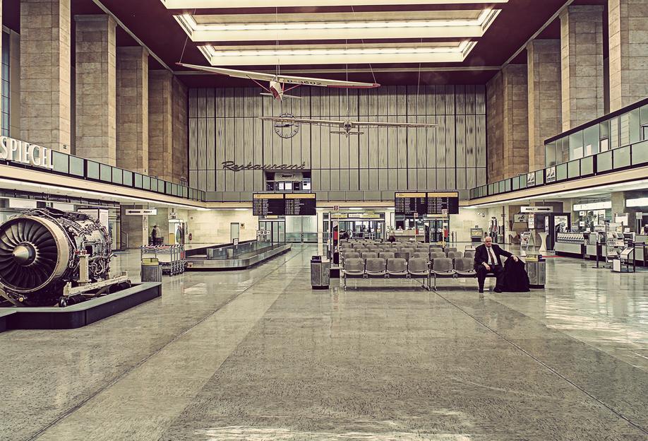 Tempelhof -Acrylglasbild