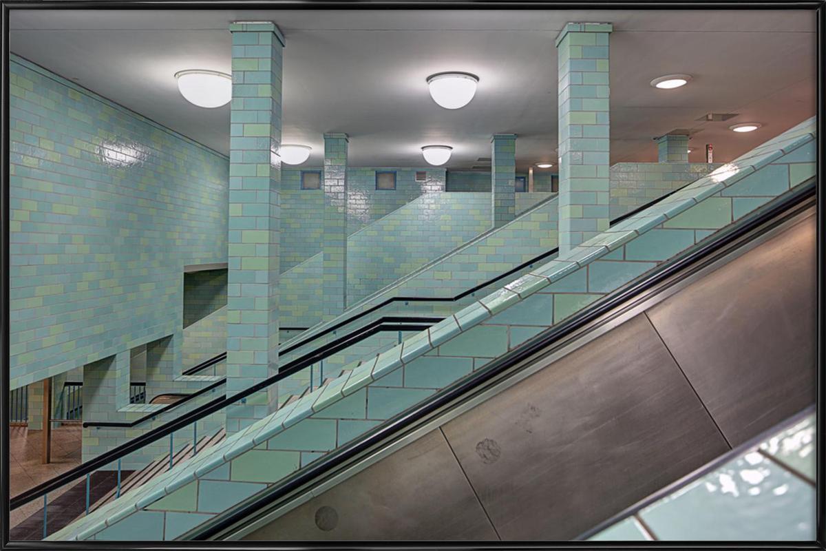 Alexanderplatz 04 -Bild mit Kunststoffrahmen