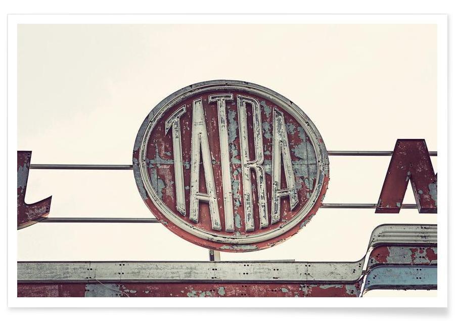 Arkitektoniske detaljer, Biler, Tatra Plakat