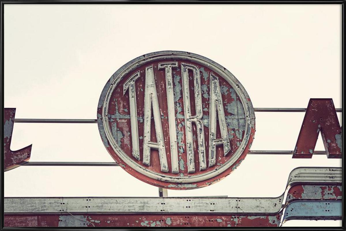 Tatra ingelijste poster