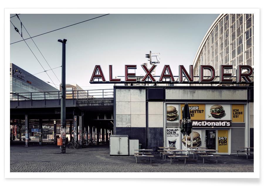 Architectonische details, Berlin 2020 No 16 poster