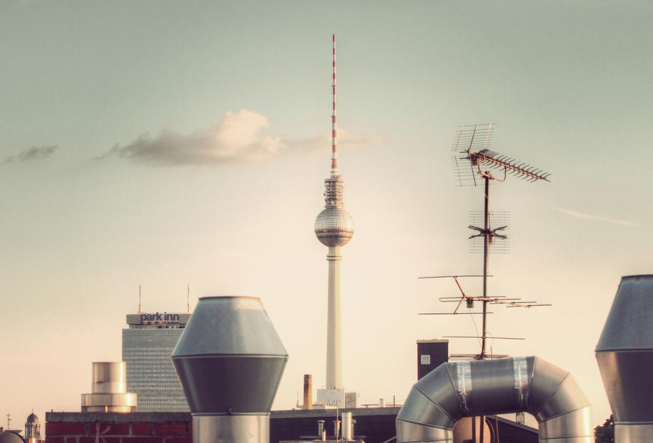 Dach -Alubild