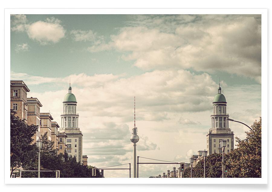 Berlin, Monuments et vues, Frankfurter Tor affiche