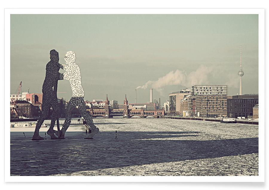 Berlin, Monuments et vues, Molecule Men affiche