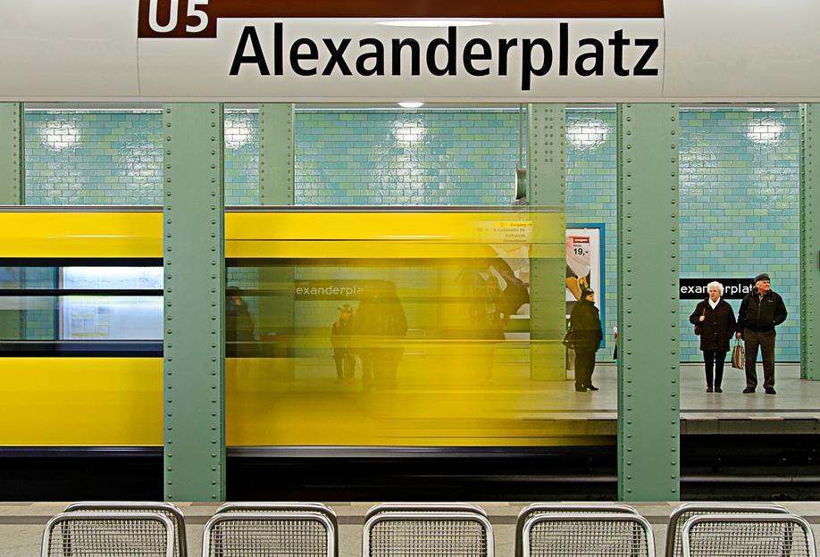 Leaving Alex Aluminium Print