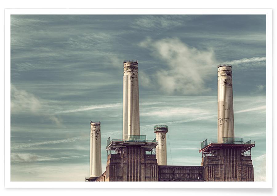 Londres, Battersea No 4 affiche