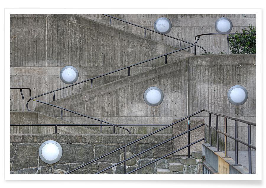 Détails architecturaux, Slussen affiche