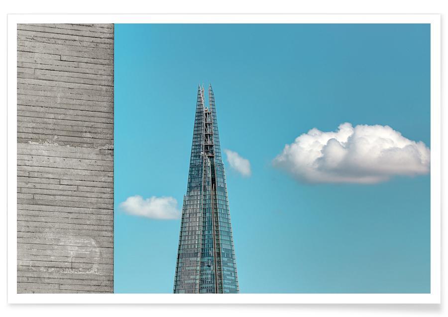 Architectonische details, Londen, Shard poster