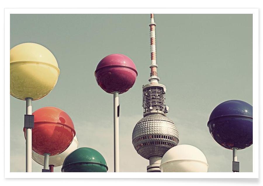 Berlin, Seværdigheder & landmærker, Kugeln No. 2 Plakat