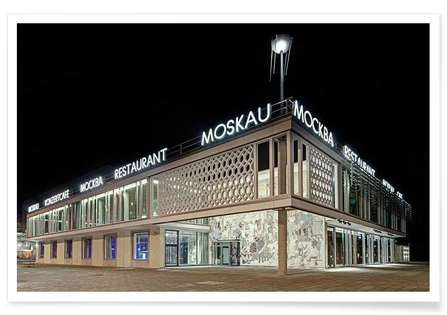 Berlin, Seværdigheder & landmærker, Cafe Moskau No. 1 Plakat