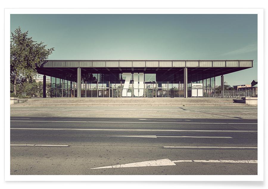 Berlijn, Neue Nationalgalerie poster