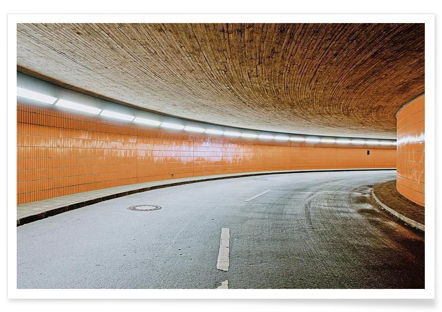 Détails architecturaux, Berlin, ICC No. 10 affiche