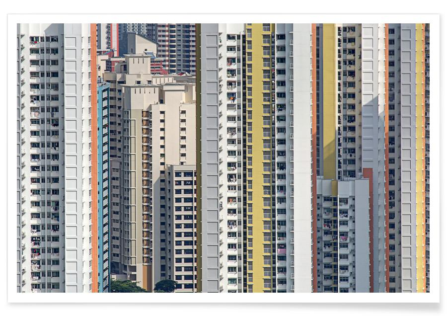 Wolkenkrabbers, Reizen, Public Housing poster