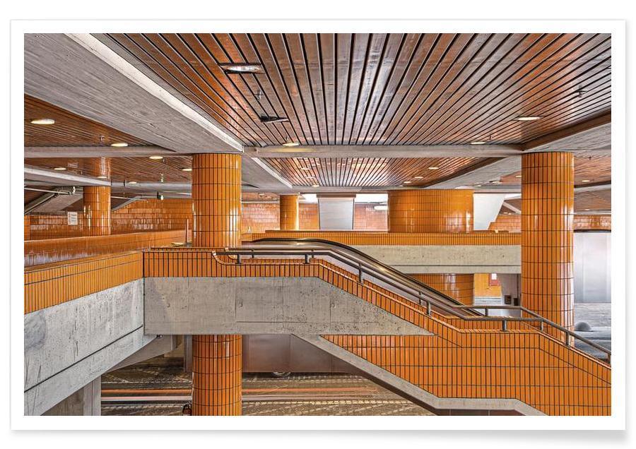 Détails architecturaux, Berlin, ICC No. 11 affiche
