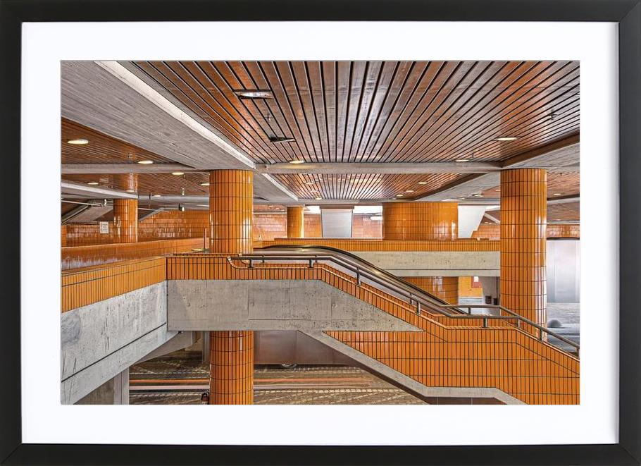 ICC No. 11 affiche sous cadre en bois