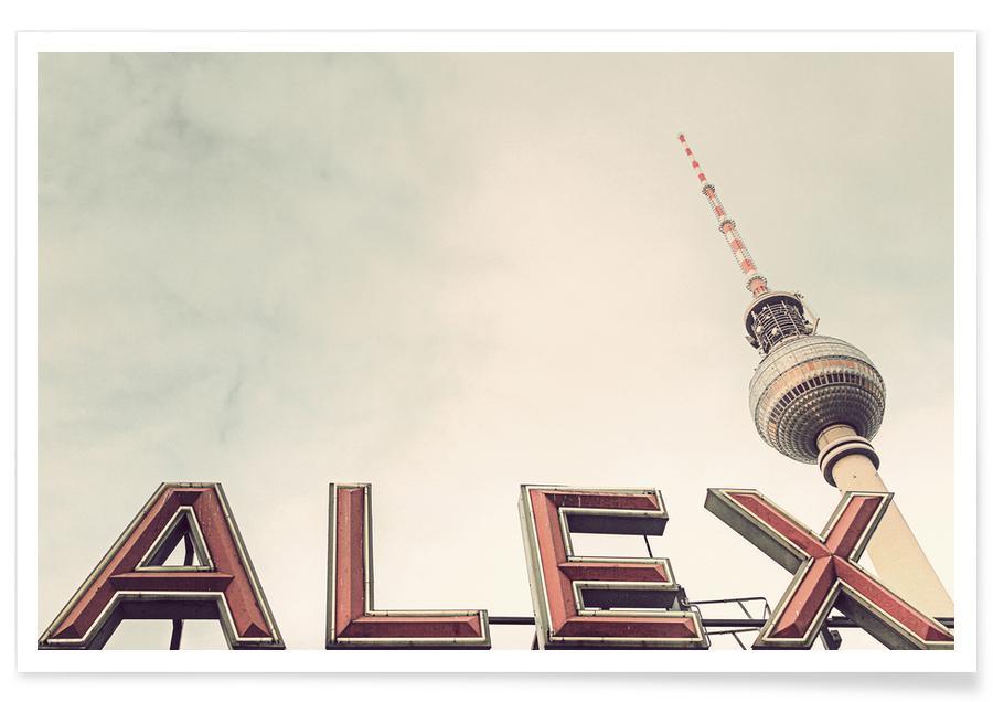 Berlin, Sights & Landmarks, Alex Poster
