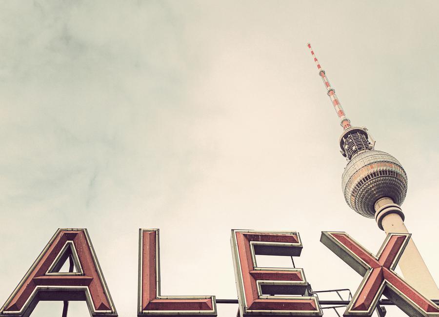 Alex -Leinwandbild