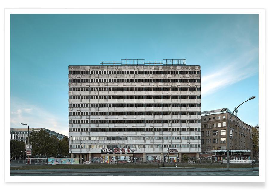Berlin, Haus der Statistik -Poster