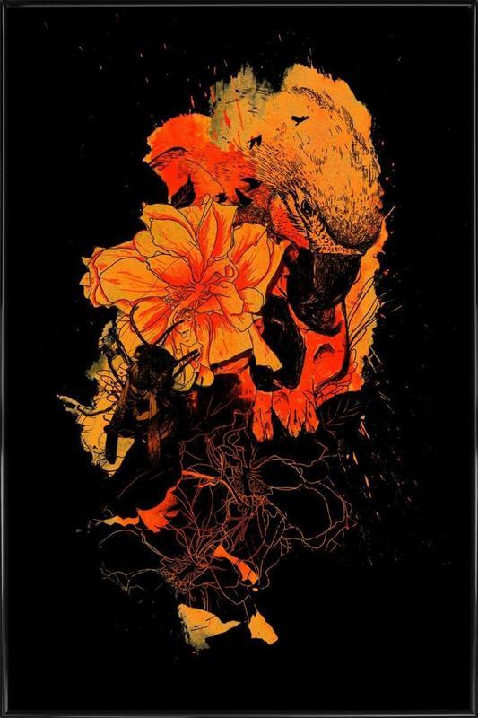 Pollination Framed Poster