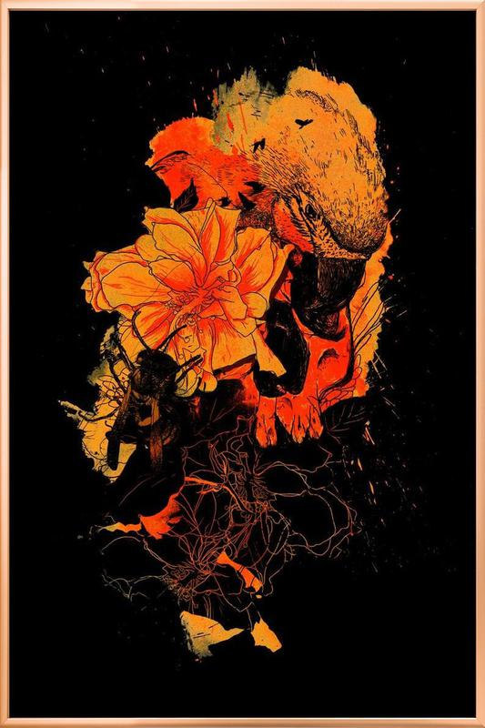Pollination Poster in Aluminium Frame