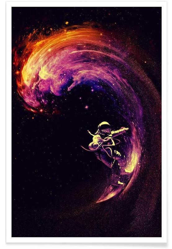 Astronautes, Space Surfing affiche