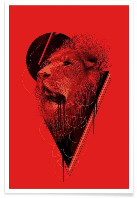 Löwen, Hunger Strike -Poster