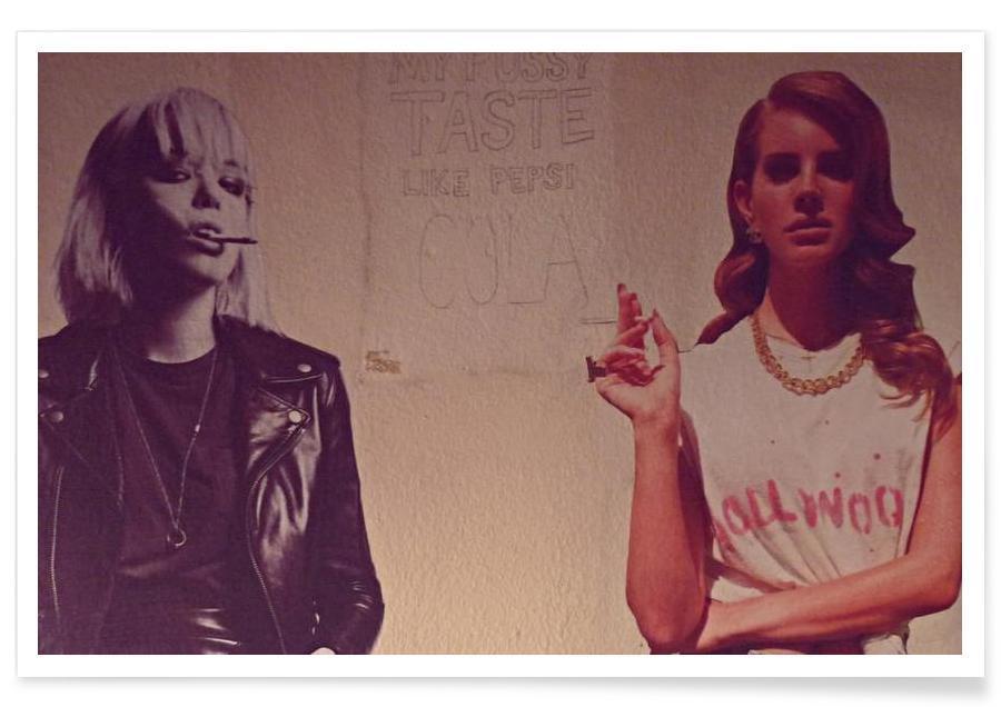 Street Art, Cola affiche