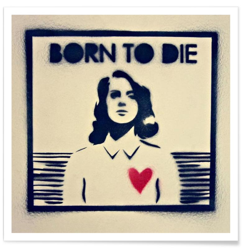 Born to die affiche